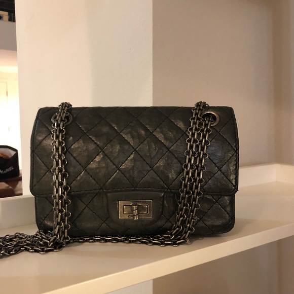 dd2614313a26 CHANEL Bags | Sold Distressed Leather Reissue 244 | Poshmark